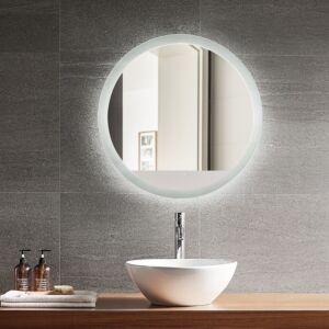 Miroir Luna à éclairage DEL intégré de 24 po