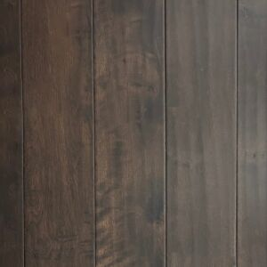 5-inch x 1/2-inch Canadian Maple Engineered Hand-Scraped Hardwood Flooring - Bark. Front view