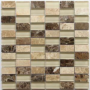 Mosaic tile Noce