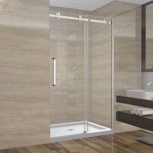 Ensemble de douche 48 pouces sans base - 3 murs - style carré