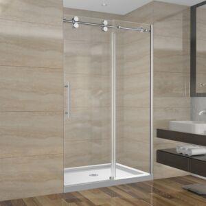Ensemble de douche 48 pouces sans base - 3 murs - style rond