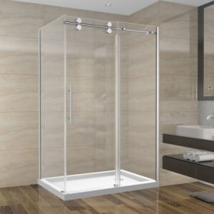 Shower Set 48inch - Round Style - 2 wall setup without base (48