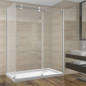 Shower Set 60inch - Round Style - 2 wall setup without base